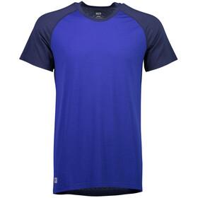 Mons Royale M's Temple Tech T T-Shirt Navy/Electric Blue